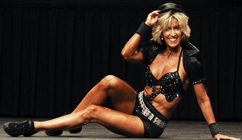 Sharon Simmons, 55-Year-Old Cheerleader