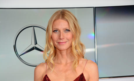Gwyneth Paltrow Sparkly Dress Photo