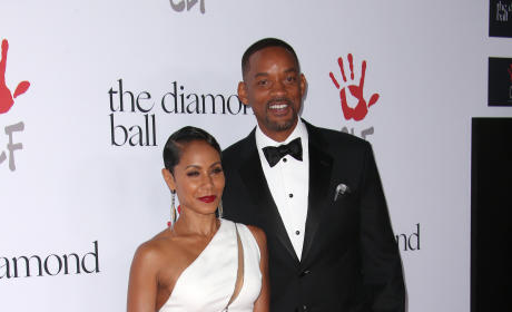 Jada Pinkett Smith and Will Smith: 2nd Annual Diamond Ball