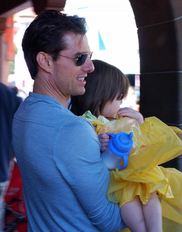 Suri Cruise is a Disney Princess - The Hollywood Gossip