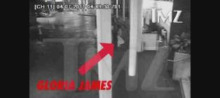 When LeBron's Mom Attacks: Gloria James Valet Slap Caught on Tape!