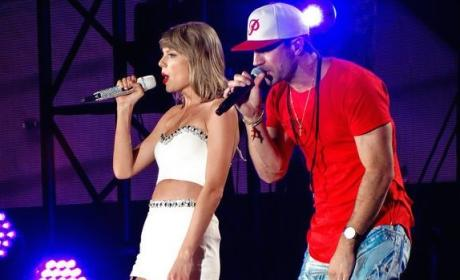 VIDEO: Sam Hunt is Latest Taylor Swift Tour Surprise