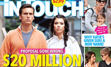 Kourtney Kardashian to Scott Disick: Sign a Prenup!