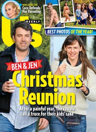 Ben Affleck, Jennifer Garner Us Cover