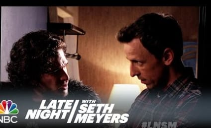 Jon Snow Attends Dinner Party With Seth Meyers; Awkward Hilarity Ensues