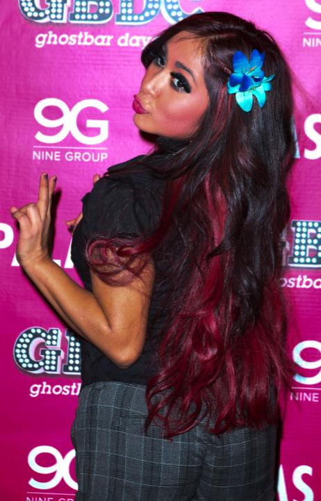 Snooki, Red Hair