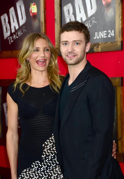 Justin Timberlake Cameron Diaz Photo