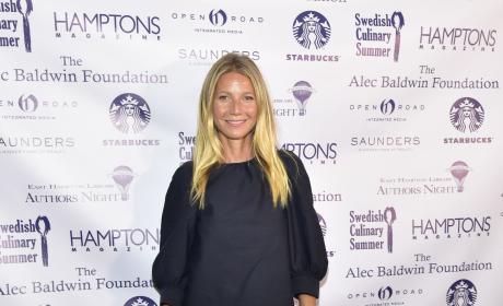Gwyneth Paltrow Hamptoms August 2016