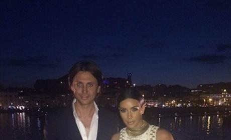 Kim Kardashian Photoshop Fail: What Happened to Her Arm?!