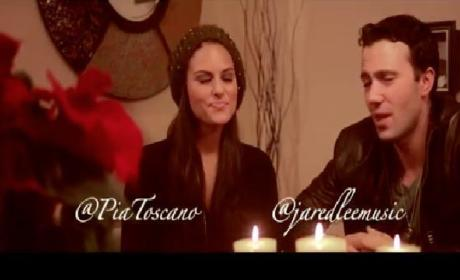 "Pia Toscano, Jared Lee Wish You a ""Merry Little Christmas"""