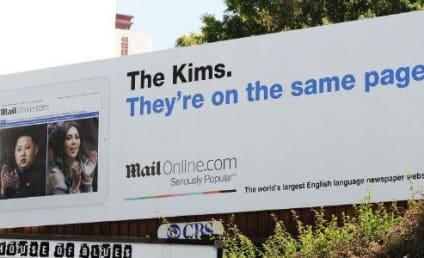Hilarious Billboard Kompares Kim Kardashian with Kim Jong-Un