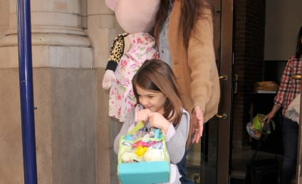 Suri Cruise Debuts New Hair Color