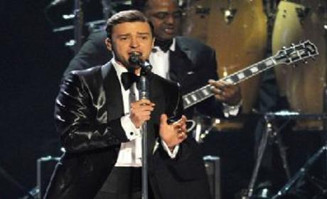 Jessica Biel Gushes Over Justin Timberlake Performance, Tit-Like Brits