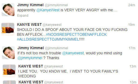 Kanye West - Jimmy Kimmel Twitter War