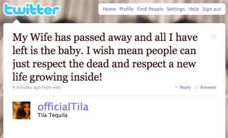 Tila Tequila Twitter Ticker: Possible Pregnancy Ahead!