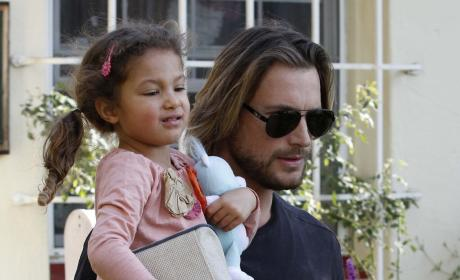 Sister of Gabriel Aubry: Happy!