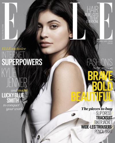 Kylie Jenner ELLE Cover