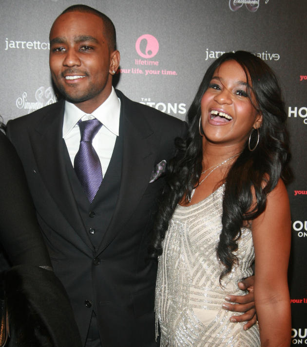 Nick Gordon and Bobbi