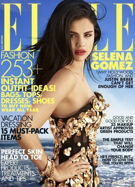 Selena Gomez Elle Cover