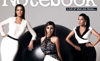 Kardashians Kover Notebook, Kreate Kontroversy: Where Are Their Kurves?