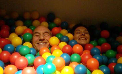 Patrick Stewart, Sunny Ozell Married; Ian McKellen Officiates Wedding