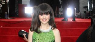 Zooey Deschanel Nude Alert: Baring it all for Janis Joplin Movie