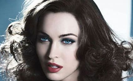New Megan Fox Armani Ads: Triple Gulp!