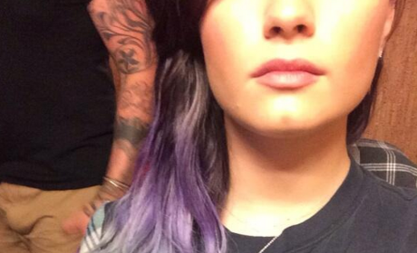 Demi Lovato Dyes Hair Silver, Believes in Mermaids