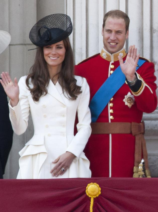 The Duke, Duchess of Cambridge