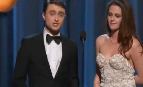 Kristen Stewart Presents at Oscars, Viewers Wonder: WTH?!?