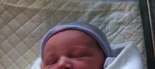 Heather Morris Baby Photo