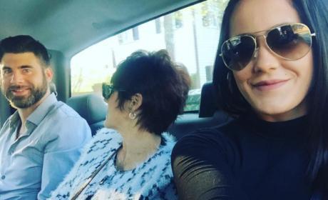 Jenelle Evans, David Eason and Barbara Evans