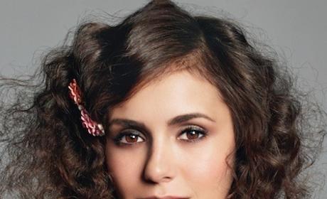 Nina Dobrev Curly Hair