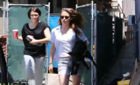 Kristen Stewart Goes Off on Paparazzo
