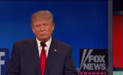 "Donald Trump Slams Rosie O'Donnell as ""Fat Pig"" During Debate: WATCH!"