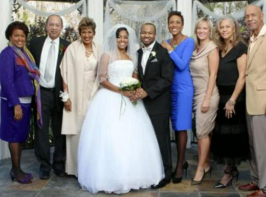 Amber Laign and Robin Roberts