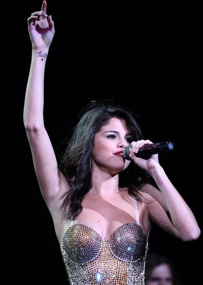Selena Gomez Tattoo