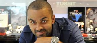 Tony Parker: Hurt in Chris Brown-Drake Melee!