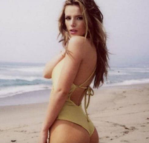 Bella Thorne Swimsuit Instagram