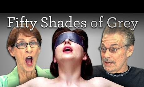 Fifty Shades of Grey Trailer: Reviewed, Mostly Panned By the Elderly in Viral Video!