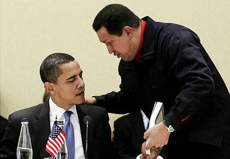 Chavez and Obama
