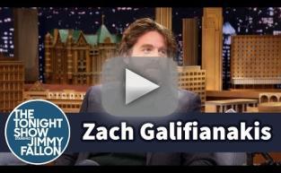 Zach Galifianakis Talks Son's Testicles
