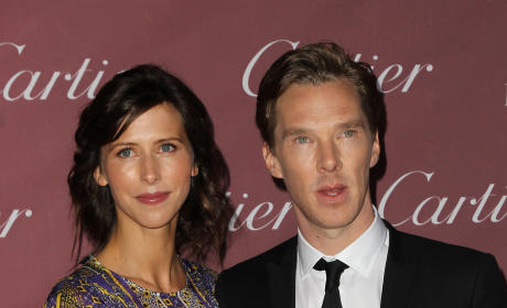 Benedict Cumberbatch Marries Sophie Hunter!