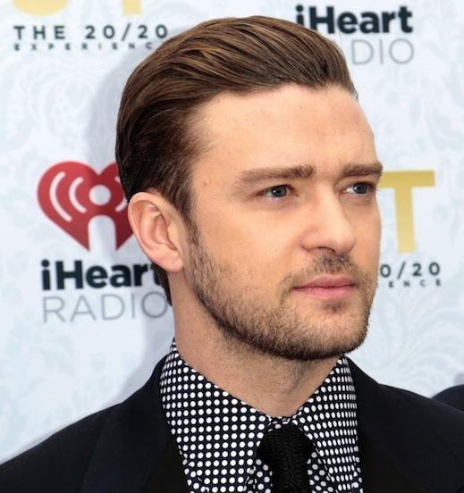 Justin Timberlake at Album Release Party