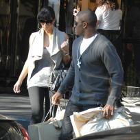 Kim Kardashian and Reggie Bush: Shopping Spree!