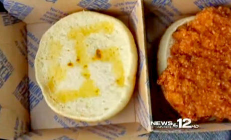 McDonald's Employee Fired for Cooking Butter-Made Swastika Into Chicken Sandwich Bun