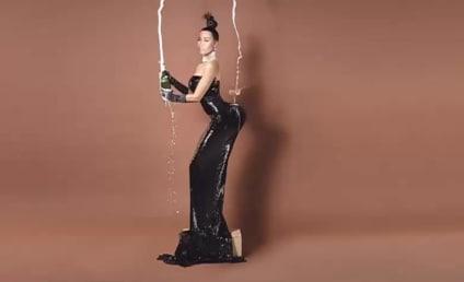 Nicki Minaj Mocks Kim Kardashian Nude Photos, Explains Magazine Mishap