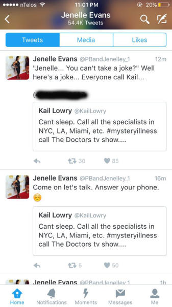 Kailyn Lowry - Jenelle Evans Twitter feud over illness