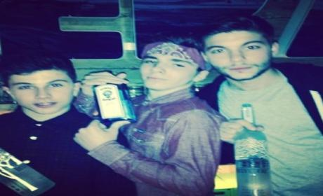 Madonna Instagrams Photo of 13-Year Old Son Holding Liquor Bottle