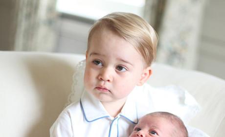Prince George and Prince Charlotte